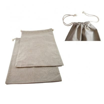 linen bag with string